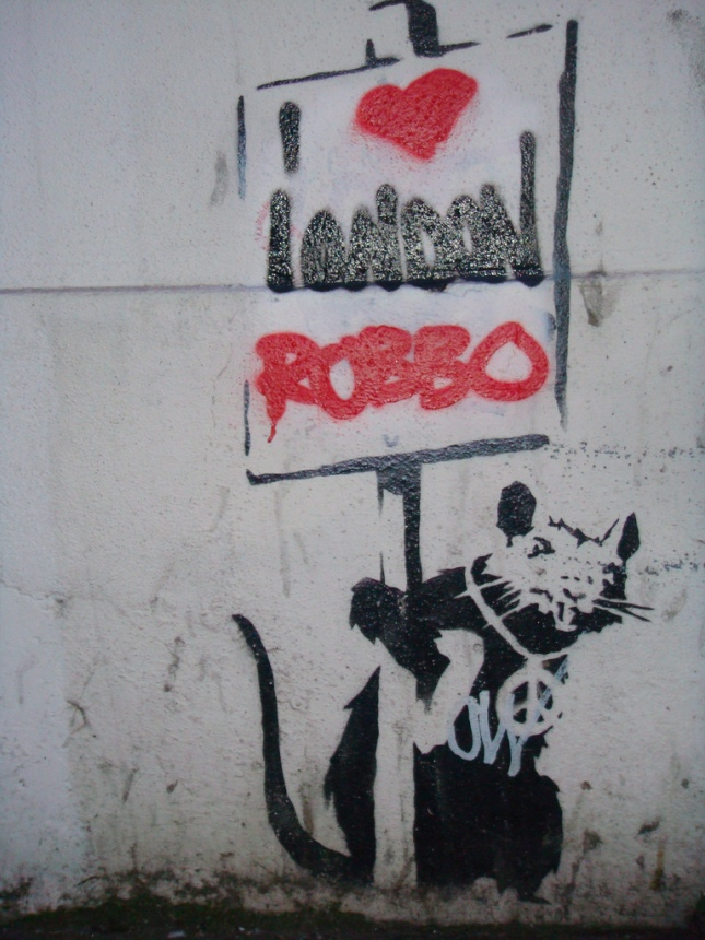 Banksy, Tumblr, Facebook, Styleydolize